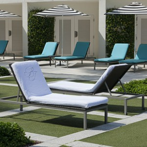 Enhance Your Outdoor Spa with Boca Terry Lounge Chair Covers